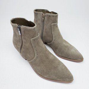 NEW Marc Fisher Wanida Studded Boho Ankle Boots